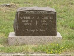 Averilla Jane <I>Morgan</I> Curtis