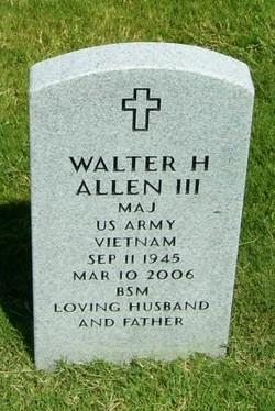 Walter H Allen, III