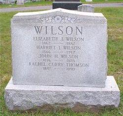 Harriet I Wilson