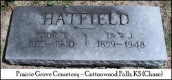 Sadie T. <I>Talbot</I> Hatfield