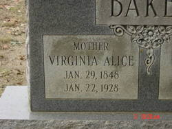 Virginia Alice Baker