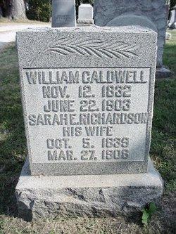 Sarah E. <I>Richardson</I> Caldwell