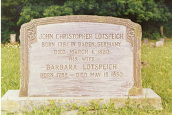 Rebecca Barbara <I>Hartley</I> Lotspeich