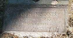 Jean <I>Holmes</I> McInnes