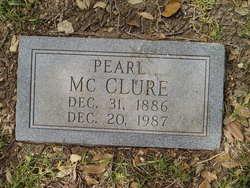 Pearl <I>Montgomery</I> McClure