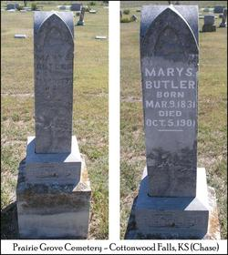Mary S. <I>Myers</I> Butler