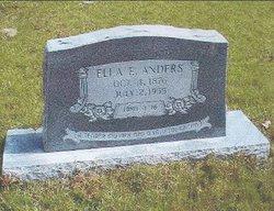 Ella Elizabeth <I>Ewing</I> Anders