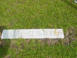 Cole Cemetery