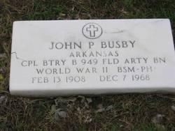 John P. Busby