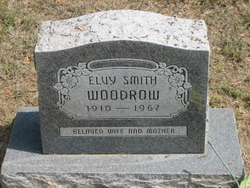 """Elvy Irene """"Evelyn"""" <I>Smith</I> Woodrow"""