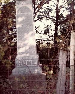 Joel Hume Farm Family Cemetery