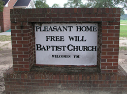 Pleasant Home Free Will Baptist Cemetery
