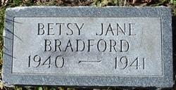 Betsy Jane Bradford