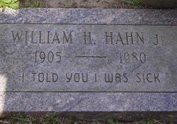 William H. Hahn, Jr