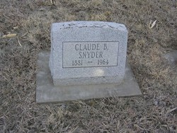 Claude B Snyder