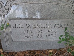 "Joseph Warren ""Smoky"" Wood"