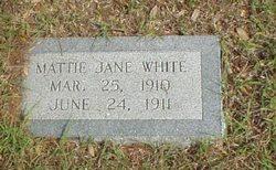 Mattie Jane White