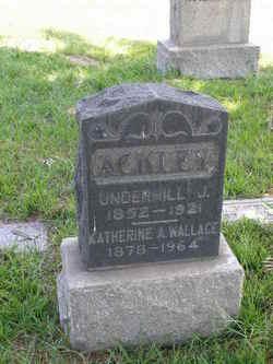 Katherine A <I>Wallace</I> Ackley