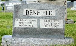 Clara <I>Fox</I> Benfield