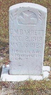 C M Barrett