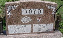 Betty Mae <I>Wheelon</I> Boyd