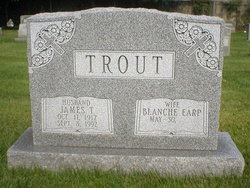 "Blanche M ""Dit"" <I>Earp</I> Trout"