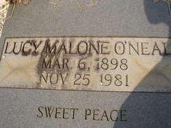 Lucy Malone O'Neal