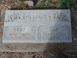 Susan <I>Jones</I> Bollinger