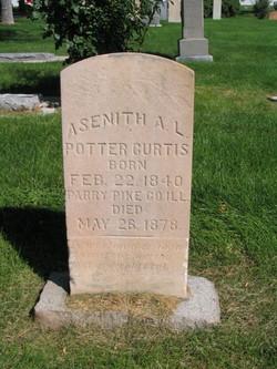Asenith Annette <I>Lawrence</I> Curtis