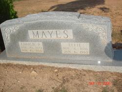 "Jo Effie ""Effie"" <I>Vaughn</I> Mayes"