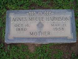 Agnes <I>McCue</I> Harrison