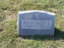 Alonzo White, III