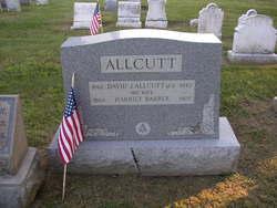 Harriet <I>Barber</I> Allcutt