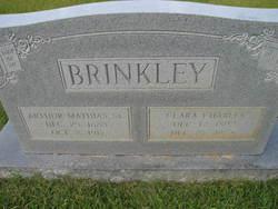 Clara <I>Charles</I> Brinkley