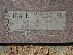 Ida E McDaniel