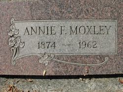 Annie F Moxley
