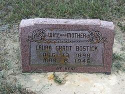 Laura <I>Grant</I> Bostick