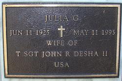 Julia G Desha