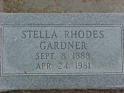 Stella <I>Rhodes</I> Gardner
