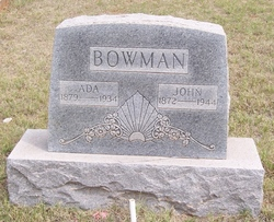 Ada <I>Dodson</I> Bowman