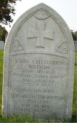 Adm John Crittenden Watson