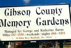 Gibson County Memory Gardens