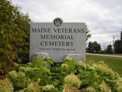 Maine Mount Vernon Road Veterans Memorial Cemetery