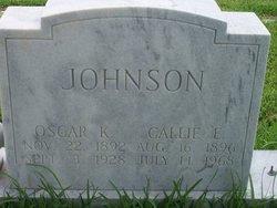 Oscar K. Johnson