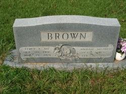 Johnnie Mildred <I>Edwards</I> Brown