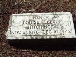 Louise <I>Tebeau</I> Hitchings