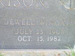 Jewell Marguerite <I>Wingate</I> Harrison