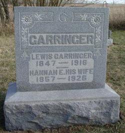 Hannah Elizabeth <I>Garringer</I> Garringer