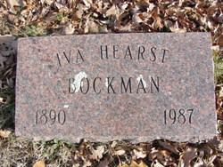Iva <I>Hearst</I> Bockman