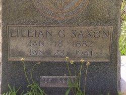 Lillian Germina <I>Smoak</I> Saxon